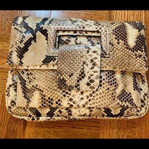 Handbags - Real python clutch